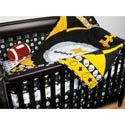 NFL Licensed Crib Bedding Set, Sports Themed Nursery | Boys Sports Bedding | ABaby.com