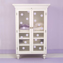 Classic Scroll Armoire, Children's Armoire | Children Armoires Wardrobe | ABaby.Com