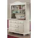 Vista Combo Unit with Hutch, Wicker Changing Tables | Wood Changing Tables | ABaby.com