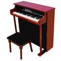 Traditional Deluxe Spinet w/Bench Piano, Musical Toys | Pianos For Kids | Kids Musical Instruments | ABaby.com