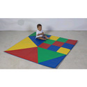 Shape and Color Mat, Soft Play Toys | Baby Jogger | Fitness Toys | ABaby.com