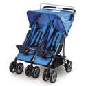 Double Duo Side-by-Side Stroller, Multiple Strollers | Twin Strollers | Double Strollers | ABaby.com
