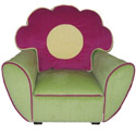 Child's Flower Storage Chair, Kids Upholstered Chairs | Personalized Upholstered Chairs | ABaby.com