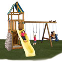 Alpine Swing Set - Project 613, Kids Swing Sets | Childrens Outdoor Swing Sets | ABaby.com