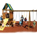 Alpine Swing Set - Project 612, Kids Swing Sets | Childrens Outdoor Swing Sets | ABaby.com