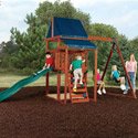 Asheville Swing Set, Outdoor Toys | Kids Outdoor Play Sets | ABaby.com