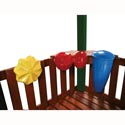 Outdoor Rhythm Band Music Kit, Kids Swing Set Accessories |Outdoor Swing Sets | ABaby.com