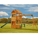 Cambridge Wood Play Set, Outdoor Toys | Kids Outdoor Play Sets | ABaby.com