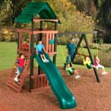 Cimarron Swing Set, Kids Swing Sets | Childrens Outdoor Swing Sets | ABaby.com