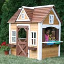 Craftsman Cottage Playhouse, Outdoor Playhouse | Kids Play Houses | Kids Play Tents | ABaby.com