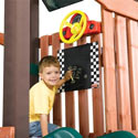 Driving Swing Set Accessory Kit, Train And Cars Themed Nursery | Train Bedding | ABaby.com