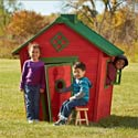 Funky Funhouse Playhouse, Outdoor Toys | Kids Outdoor Play Sets | ABaby.com