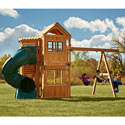 Glendale Complete Wooden Play Set, Outdoor Toys | Kids Outdoor Play Sets | ABaby.com