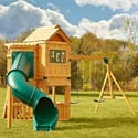 Hartsford Wooden Play Set, Outdoor Toys | Kids Outdoor Play Sets | ABaby.com