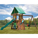 Jupiter Redwood Premier Play Set, Outdoor Toys | Kids Outdoor Play Sets | ABaby.com