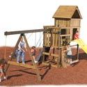 Kodiak Swing Set - Project 513, Outdoor Toys | Kids Outdoor Play Sets | ABaby.com