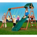 McKinley Swing Set, Kids Swing Sets | Childrens Outdoor Swing Sets | ABaby.com