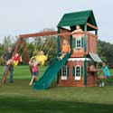 Newport News Swing Set, Kids Swing Sets | Childrens Outdoor Swing Sets | ABaby.com
