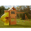 Oakmont Complete Wooden Play Set, Outdoor Toys | Kids Outdoor Play Sets | ABaby.com