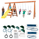 Pioneer Swing Set Hardware Kit- Project 245, Kids Swing Sets | Childrens Outdoor Swing Sets | ABaby.com