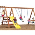 Pioneer Swing Set - Project 556, Outdoor Toys | Kids Outdoor Play Sets | ABaby.com