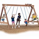 Scout Playset - Project 140, Kids Swing Sets | Childrens Outdoor Swing Sets | ABaby.com