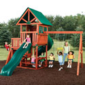 Southampton Swing Set, Kids Swing Sets | Childrens Outdoor Swing Sets | ABaby.com
