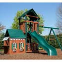 Summerville Swing Set, Kids Swing Sets | Childrens Outdoor Swing Sets | ABaby.com
