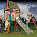 RealTree Swing Set, Outdoor Toys | Kids Outdoor Play Sets | ABaby.com