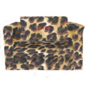 Leopard Print Sofa Sleeper, African Safari Themed Nursery | African Safari Bedding | ABaby.com
