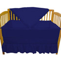 Solid Color Portable Crib Bedding, Portable Crib Bedding Sets | Mini Crib Bedding Sets | ABaby.com