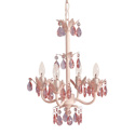 4 Bulb Ornamented Chandelier