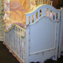 Princess Dreams Crib , Panel Crib | Modern Panel Crib | ABaby.com