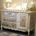 Glitter Garden Dresser, Dresser And Changing Table Combo | Nursery Dressers | ABaby.com