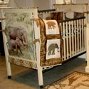 Wildlife Crib, Custom Cribs | Rustic Cribs | Unique Cribs | ABaby.com