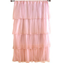 Tulle Curtain Panel, Nursery Window Treatments | Kids Valances | ABaby.com