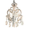 3 Bulb Ornamented Chandelier, Nursery Lighting | Kids Floor Lamps | ABaby.com