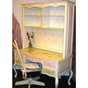 Penelope on the Prairie Desk and Hutch, Childrens Desk | Kids Desk Vanity Combo | ABaby.com