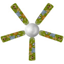 Jungle Animals Ceiling Fan, African Safari Themed Nursery | African Safari Bedding | ABaby.com