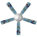 Pirate Ceiling Fan, Ceiling fans for kids | childrens ceiling fans | ABaby.com