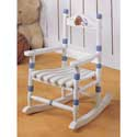 Toddler's Sports Rocking Chair, Sports Themed Furniture | Baby Furniture | ABaby.com