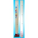 Inch by Inch Growth Chart, Personalized Baby Growth Chart for Girls & Boys
