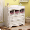 Madeline Changer, Baby Changing Table | Changing Tables With Drawers | ABaby.com