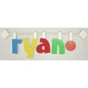 Name-On-A-Stick, Basic Kids Wall Letters | Wall Letters For Nursery | ABaby.com