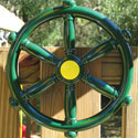 Pirate Ship Wheel, Kids Swing Set Accessories |Outdoor Swing Sets | ABaby.com