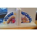 Personalized All Star Bookends, Sports Themed Nursery | Boys Sports Bedding | ABaby.com