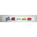 Transportation Shelf, Train And Cars Themed Nursery | Train Bedding | ABaby.com