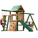 The Grand Trekker Swing Set, Kids Swing Sets | Childrens Outdoor Swing Sets | ABaby.com