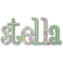 Stella Whimsical Letters, Customized Wall Letters | Childrens Wall Letters | ABaby.com