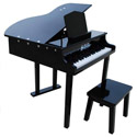 Concert Grand Piano with Matching Bench, Musical Toys | Pianos For Kids | Kids Musical Instruments | ABaby.com